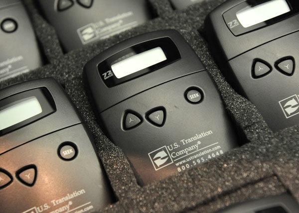 interpretation equipment receivers