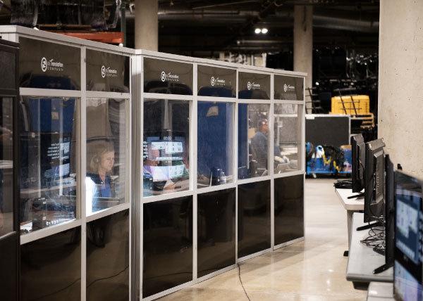interpretation equipment control units