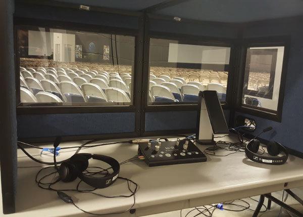 interpretation equipment table top booths