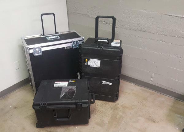 interpretation equipment transporter cases