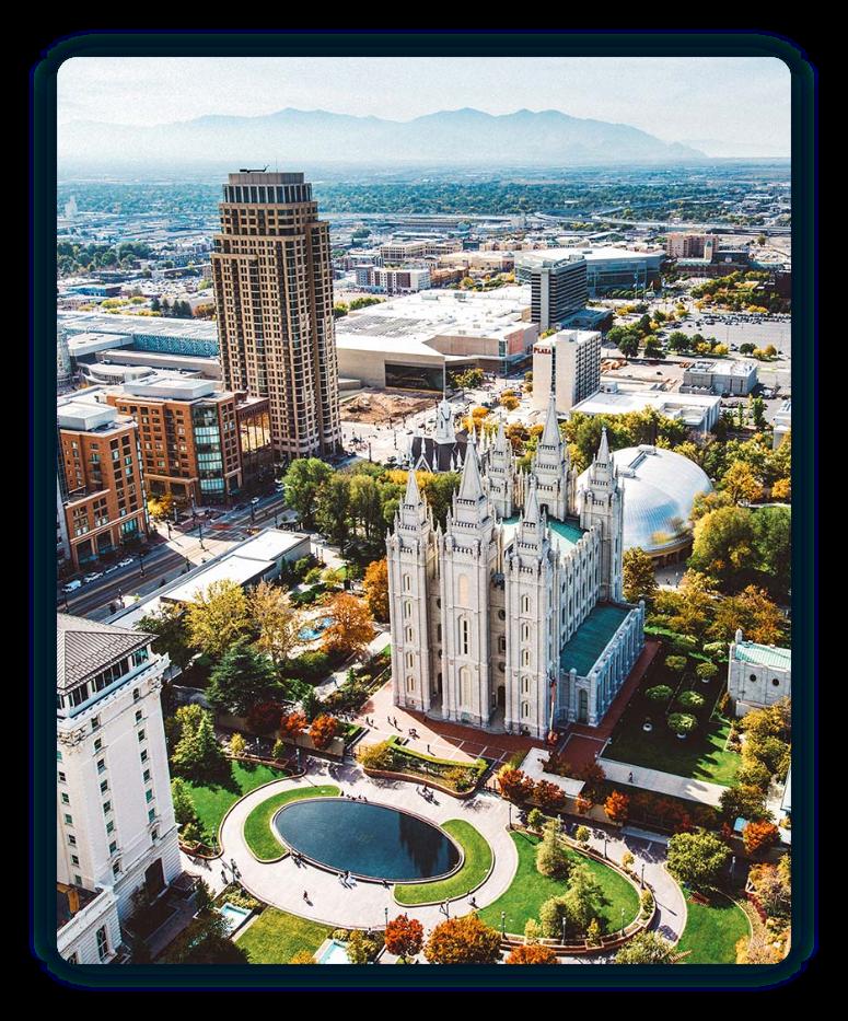 Skyline Salt Lake City Utah VISITSLC0917